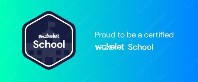 Seth Anandram Jaipuria School, Lucknow is proud to announce that it has earned the honour of being a WAKELET SCHOOL