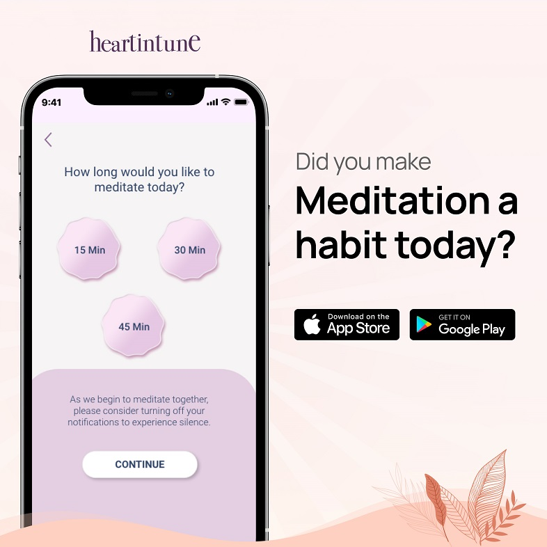 HeartinTune_Did you make meditation a habit today